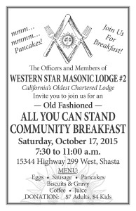 Oct17 Breakfast Poster BW pic